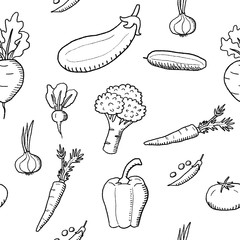 Vegetables fashion design