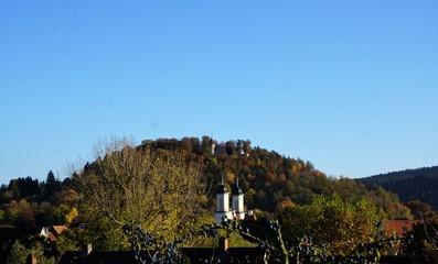 Die Burg Honberg ist die Ruine einer Gipfelburg oberhalb es Donautals auf dem gleichnamigen Honberg...
