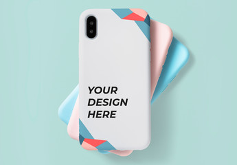Mobile Phone Case Mockup