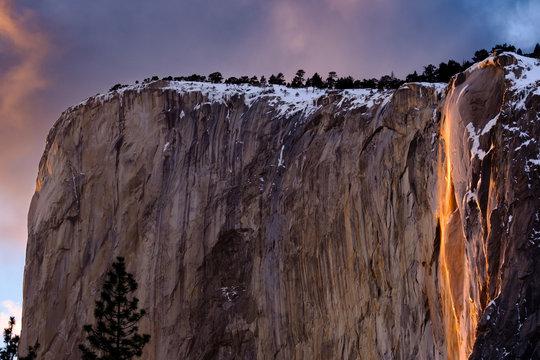 2019 Horsetail Falls' Fire Falls in Yosemite National Park - Landscape