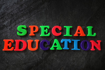 Special Education concept