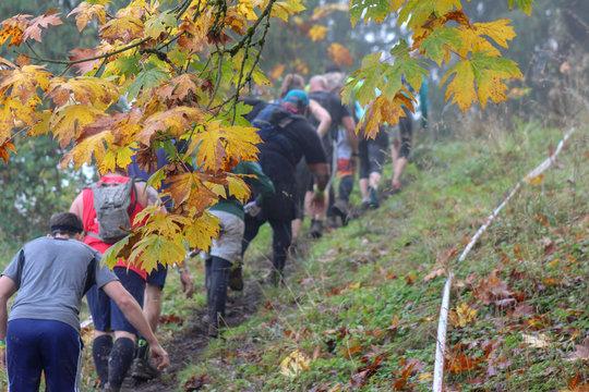 Mud Race Hikers
