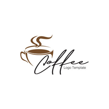 vector coffee logo