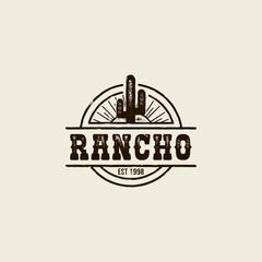 ranch cactus logo