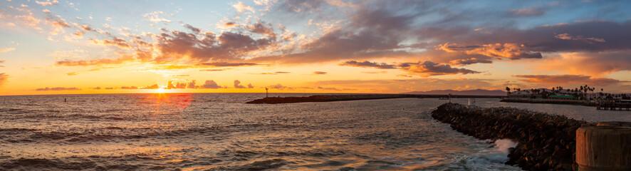 Sunset From the Redondo Beach Pier.