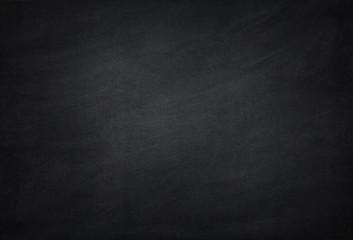 empty black school chalkboard