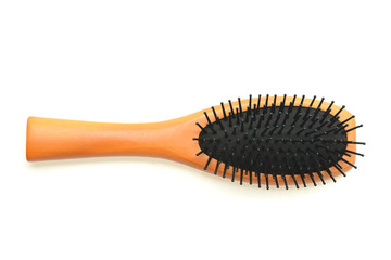 Hair comb isolated