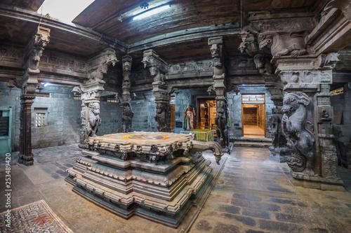 Tirunelveli, Tamil Nadu, India, November 10, 2018: Ancient