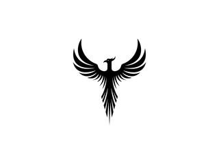 Phoenix symbol vector illustration