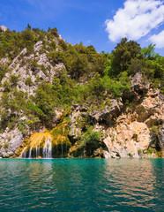 The azure rivers Verdon