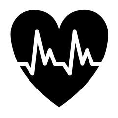 Cardiology symbol icon