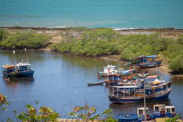 Santa Cruz Cabrália Centro Histórico - Barcos