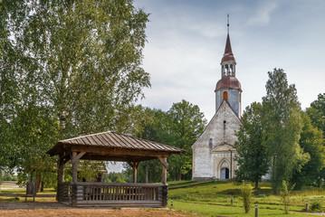 St. Andrew Church in Sangaste, Estonia