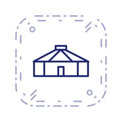 Illustration Yurt  Icon