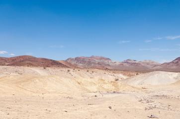 Yellow Desert Blue Skies