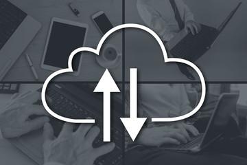 Concept of cloud storage