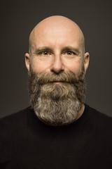 male portrait with long beard
