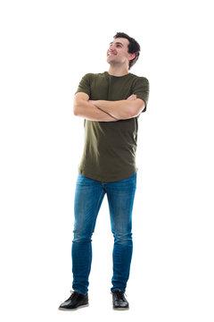 confident man full length