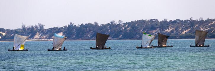 Fischerboote auf Madagaskar