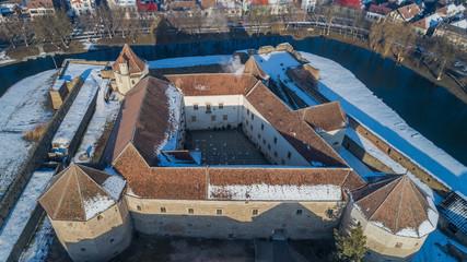 Fagaras Fortress, Transylvania, Romania