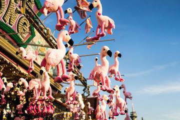 amusement park, carousel.