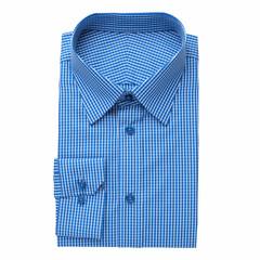Fashion mens shirt, isolated on white.