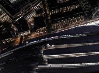 London at night - from the Shard