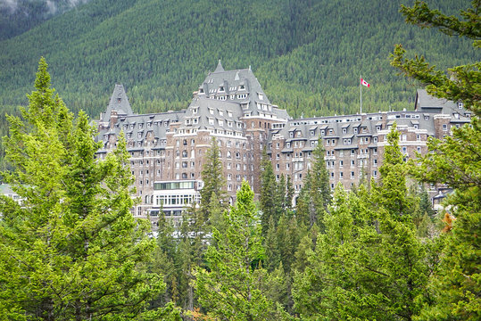 Fairmont Springs Hotel in Banff National Park, Alberta Canada