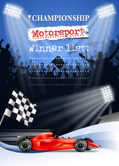 motorsport finishing