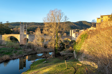 Besalu Early Morning View