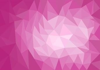 Violet polygonal background