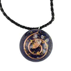Handmade orgonite pendant
