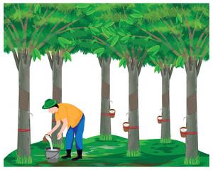 agriculturist harvest water rubber vector design