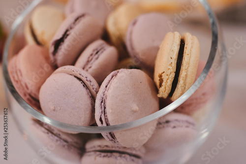 Fine Colorful Macarons Stand In Round Transparent Weight As Part Complete Home Design Collection Epsylindsey Bellcom