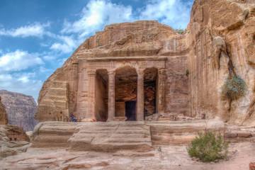Garden hall at Petra, Jordan