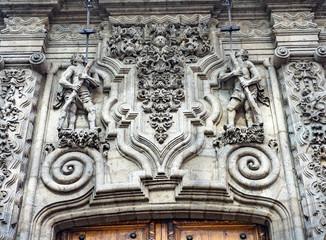 Facade Madero Street Mexico City Mexico