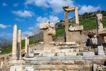 Ephesus historical ancient city. Selcuk / Izmir / Turkey