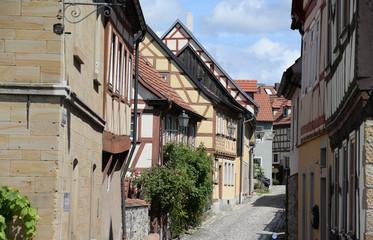 Fotomurales - Gasse in Koenigsberg in Bayern