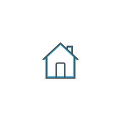 Home icon design. Essential icon vector illustration