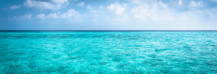 Sea and sky. Indian Ocean.