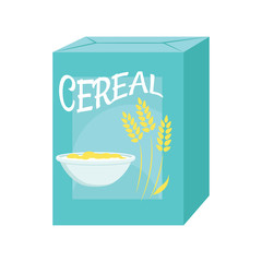 Cereal box icon
