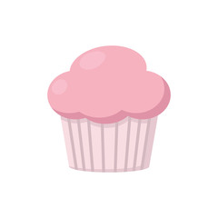 Pink muffin icon