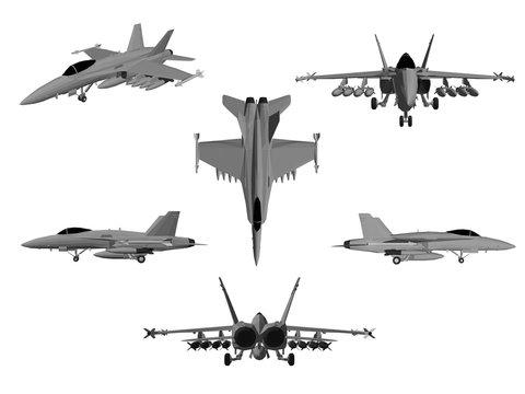 set of planes