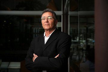 Elek, former Chief Compliance and Governance Officer of Petrobras, poses for picture in Sao Paulo