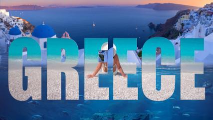 Greece popular travel destination in Europe