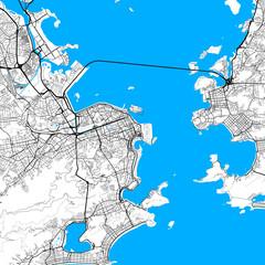 Rio de Janeiro map