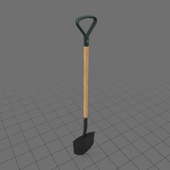 Rounded shovel
