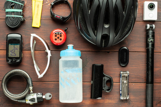 Items replacements and tools for a cycling