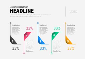 Multicolored Infographic