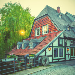 Wall Mural - Half-timbered house in Goslar